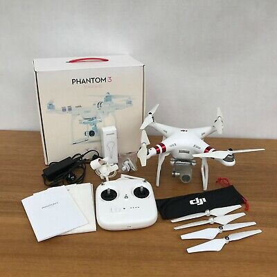 AU690 • Buy DJI Phantom 3 Standard Drone Camera Quadcopter White With Remote And Accessories