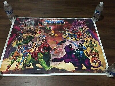 $49.99 • Buy Vintage Original 1984 Masters Of The Universe He-Man Poster William George 80s