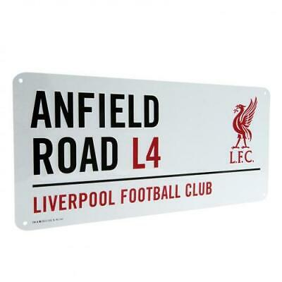 Liverpool FC Street Sign Official Merchandise • 9.99£