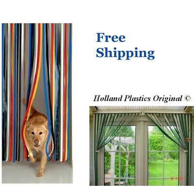 Plastic Strips Insect Control Mosquito Blinds Door Screen Protection Stop Fly Uk • 10.29£