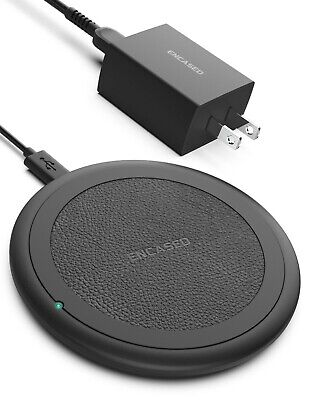 $ CDN16.48 • Buy Wireless Charger Qi Fast Charging Pad With Power Adapter For IPhone And Samsung