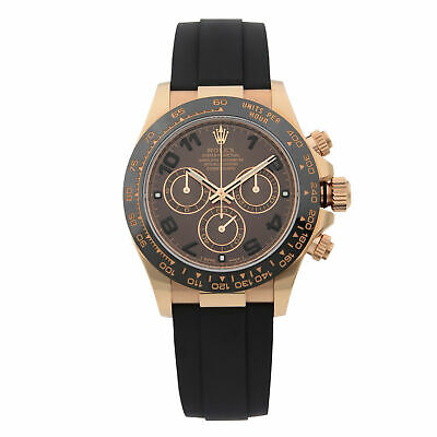 $ CDN42840.19 • Buy Rolex Cosmograph Daytona 18K Everose Gold Chocolate Dial Mens Watch 116515LN