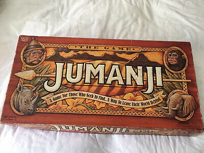 AU25.50 • Buy Jumanji Board Game