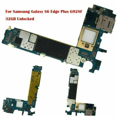 $ CDN54.32 • Buy For Samsung Galaxy S6 Edge Plus G928F 32GB Unlocked Main Motherboard Replacement