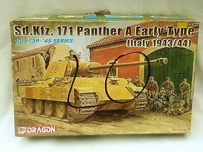 Vintage Dragon Ww2 Model Kit Unused 1:35 Sd.kfz. 171 Panther A Early Type • 39.99£