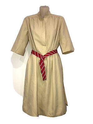 AU42 • Buy A RARE FIND! Vintage SCHARADE FOR KATIES Safari Tunic Dress Fit 6-10