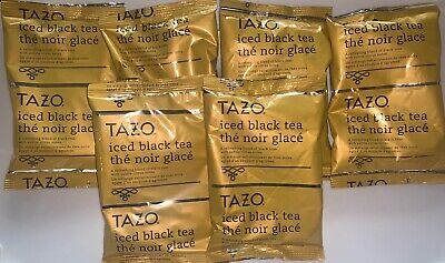 £7.08 • Buy *NEW Tazo Iced Black Tea W/Citrus Notes, Lot Of 6 Packets (Make 3 Gallons Each)