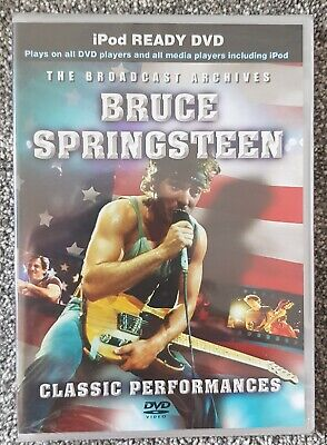 Bruce Springsteen Classic Performances Dvd New And Sealed  • 17.99£