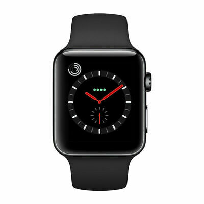 $ CDN422.74 • Buy Apple Watch Series 3 42mm GPS+Cellular Stainless Steel Space Gray Case Unlocked