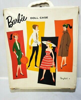 $ CDN107.01 • Buy Vintage 1958 BARBIE Doll Mattel Japan With Accessories Clothes Lot Cases