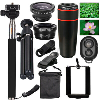 All In1 Accessories  Camera Lens Top Travel Kit For Mobile Smart Cell  • 15.20£