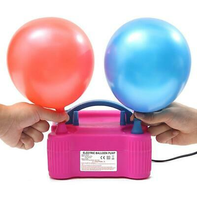 £18.50 • Buy Portable Dual Nozzle Electric Balloon Pump Inflator Blower Air BEST Party N5W5