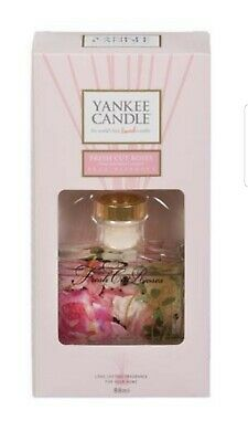 Yankee Candle Signature Reed Diffuser, Fresh Cut Roses, 88g. Brand New. ☆LAST 2☆ • 16.99£