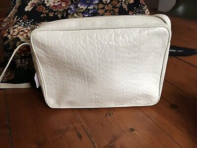 AU30 • Buy White Vintage Leather Handbag