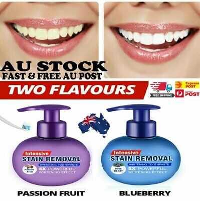 AU14.53 • Buy Instant Clean Intensive Stain Removal Whitening Toothpaste Fight Bleeding Gums~W