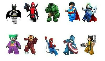 Lego Marvel Characters Decal Wall Sticker Home Decor Art  Large (single Sticker) • 3.70£