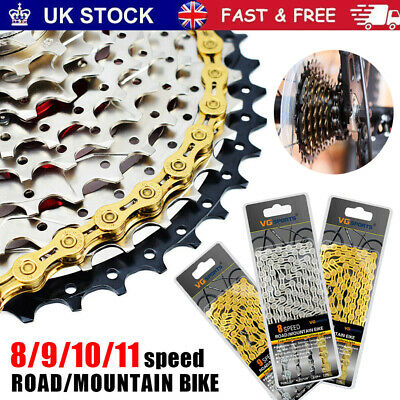 Bicycle Chain 8 /9/ 10 /11 Speed Gear Mountain Bike Road Hybrid Cycle Links UK • 10.40£