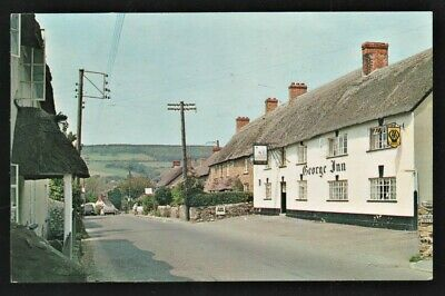 Dorset Postcard Chideock Village With The George Inn, Posted 1964  • 2.45£