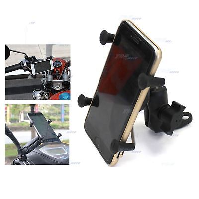 AU36.51 • Buy Waterproof Motorcycle Scooter Mount Holder X For IPhone Phone Rear View Mirror