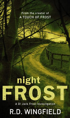 Night Frost, R.D. Wingfield, Good Condition Book, ISBN 0552145580 • 3.15£