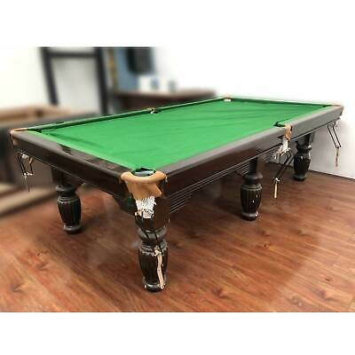 AU1121 • Buy Melbourne Special - 9ft 3pcs Slate Second Hand Pool Table. As Is Condition.