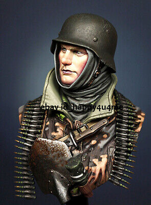 1/10 Ancient Soldier Bust Model Unpainted Garage Kits Resin Unassembled Statue • 22.55£