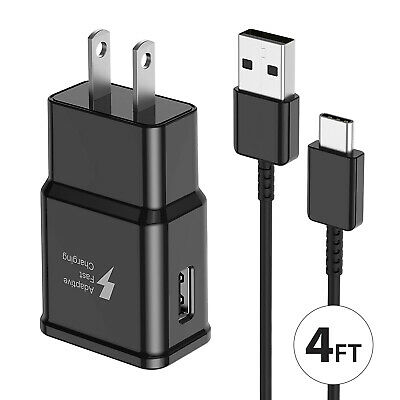 $ CDN10.03 • Buy Original OEM Samsung Galaxy S10 S9 S8 Note10 9 8 Fast Wall Charger +Type C Cable