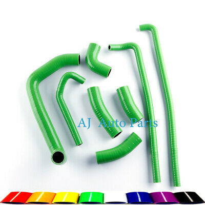 $59.99 • Buy For KAWASAKI Ninja ZX7R 1996-2003 Silicone Radiator Hose Kit Green Pipes