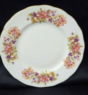 £6.49 • Buy  Colclough Wayside 21cms DESSERT SALAD PLATE IN NICE CONDITION