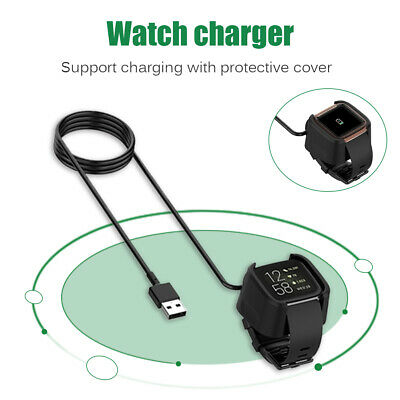 $ CDN8.04 • Buy USB Charger Cable For Fitbit Versa 2 Smart Watch Charging Adapter Cable /Lot
