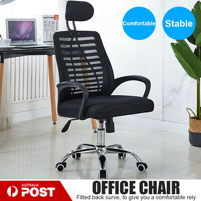 AU75.19 • Buy 2020 New Mesh Office Chair Gaming Executive Fabric Seat Racing Headrest Recline