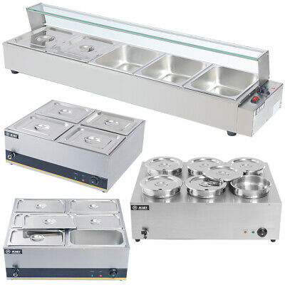 £109.95 • Buy Bain Marie 3/5GN Pan Container Food Warmer Commercial Wet Soup Sauce Heat Barrel
