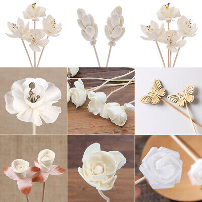 AU6.07 • Buy Dried Flower Rattan Fragrance Diffuser Sticks Reed Replacement Aroma Home Decor