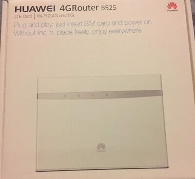 AU140 • Buy Huawei B525s-65a 4G LTE Gateway Mobile Router Unlocked 700MHz