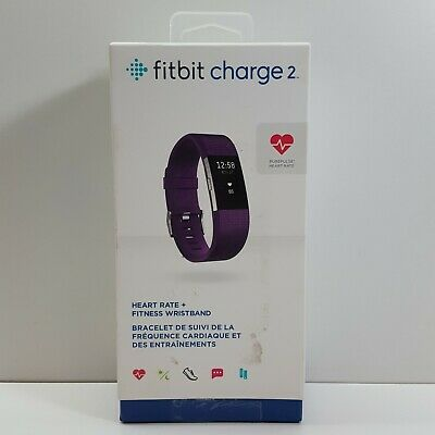 $ CDN69.99 • Buy Fitbit Charge 2 Heart Rate Fitness Wristband (Plum) FB407SPMS (LOOK DESC.) S2300