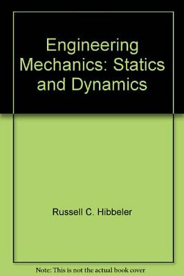 Engineering Mechanics: Statics And Dynamics,Russell C. Hibbeler • 6.59£