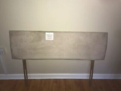 £25 • Buy Natural Neutral Beige Small Double Headboard