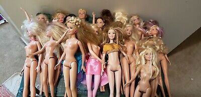 $ CDN75 • Buy 16 Vintage 1966 To 90s 00s Barbie Doll Mattel LOT