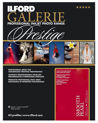 ILFORD GALERIE Prestige Smooth Pearl 8.5 X11   Photo Paper 100 Sheet 2001752 • 47£
