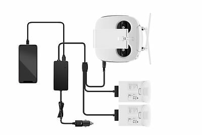 AU40.15 • Buy 3 IN 1 Car Charger Battery Charging Adapter For DJI Phantom 4 RC Drones Black
