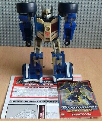 Transformers Energon Combat Class Prowl Figure Plus Instructions And Stat Card  • 9.99£