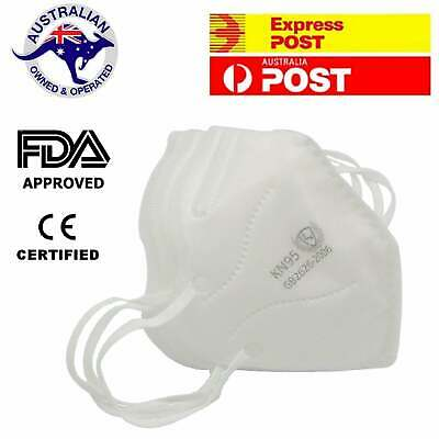 AU8.95 • Buy 2 X KN95 N95 Face Mask Particulate Filter Reusable Protective Respirator Masks