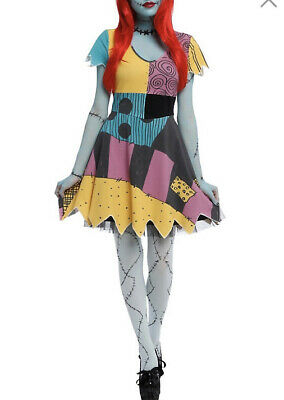 £86.92 • Buy The Nightmare Before Christmas Sally Costume Dress Womens Size Large