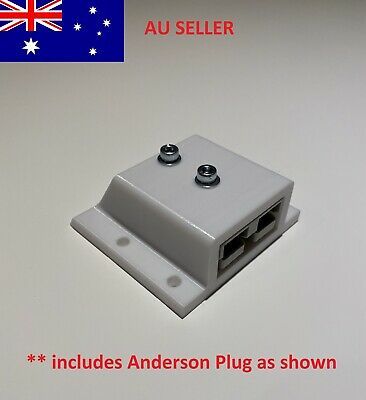 AU19.95 • Buy 50 Amp Anderson Plug Surface Mount Sealed Cover SB50 White