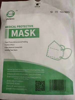 AU16.95 • Buy 10 Pcs - N95 Face Masks - Sterile - Single Packaging - In Stock Now AU