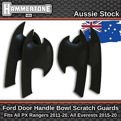 AU29.99 • Buy DOOR HANDLE BOWL SCRATCH PROTECTOR Accessories For Ford Ranger & Everest
