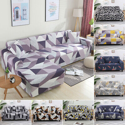AU43.68 • Buy 1/2/3/4 Seater Sofa Cover Couch Lounge Protector Slipcovers High Stretch Covers✅