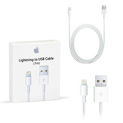 AU14.39 • Buy 2X Genuine Apple IPhone USB To Lightning Charger Cable 1m - AU Stock! Md818