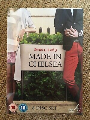 Made In Chelsea - Series 1-3 Complete (DVD, 2012, 8 Disc Set, Box Set) Sealed. • 5£