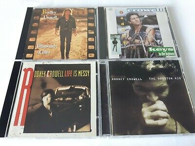$ CDN24.99 • Buy Lot Of 4 Rodney Crowell Country Music CD'S Very Good Condition